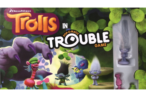 Trouble: Trolls Edition Game from Hasbro - YouTube