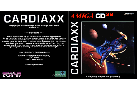 RGCD: Cardiaxx CD32 (Amiga CD32) [Keyboard Required]