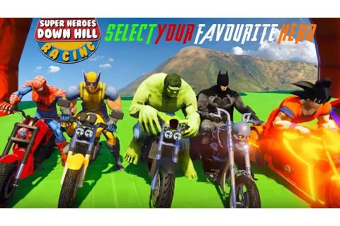 Super Heroes Downhill Racing - by Game Pixels Studio ...