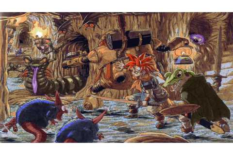 The video game art of Akira Toriyama (Den of Geek article ...