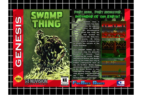 SPECIAL ORDER Swamp Thing Unreleased Prototype by FanBrewGames