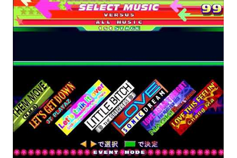 Dance Dance Revolution 4th Mix Plus Song List - YouTube