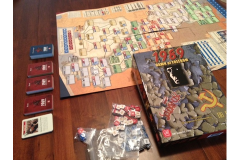 1989: Dawn of Freedom Review | Board Game Reviews by Josh