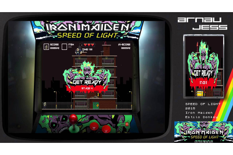Iron Maiden: Speed Of Light GAME - YouTube