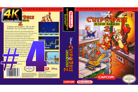 Прохождение Chip 'n Dale Rescue Rangers 2 NES Gameplay ...