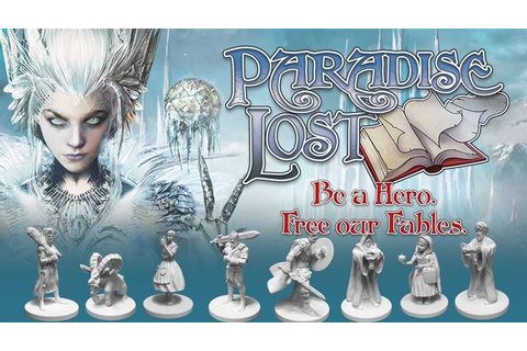 Paradise Lost Board Game Up On Kickstarter - Tabletop ...