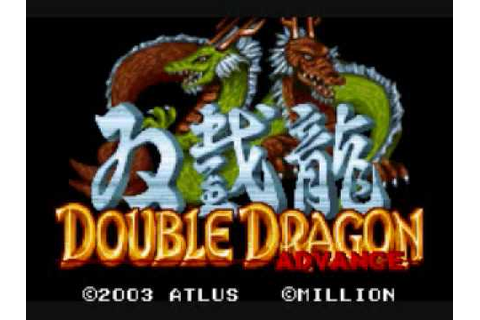 Double Dragon Advance Music - 01 Title Screen - YouTube
