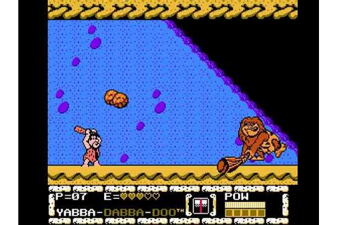 The Flintstones The Surprise at Dinosaur Peak - NES ...