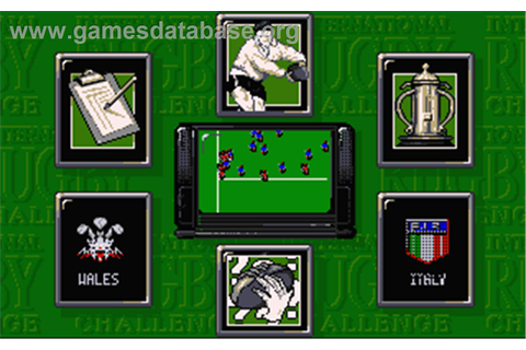 International Rugby Challenge - Atari ST - Games Database