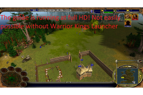 Game Running at 1920x1080 image - Warrior Kings Launcher ...