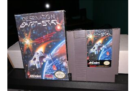 Destination Earthstar - Nintendo NES Video Game - Cart And ...