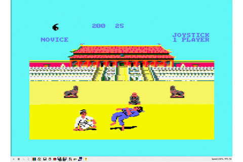 Way of the Exploding fist on the Amstrad CPC - Simply Games