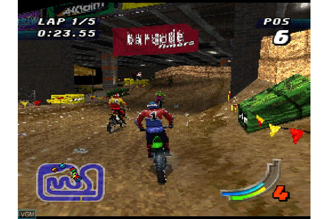 Jeremy McGrath Supercross 98 for Sony Playstation - The ...