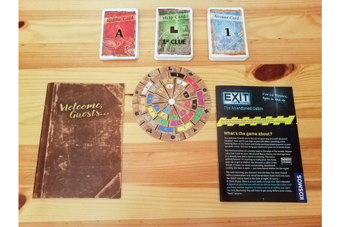 Exit: The Game Review | Co-op Board Games