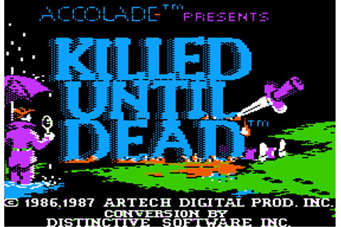Download Killed Until Dead - My Abandonware