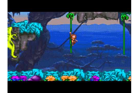 Jugando a Tarzan Return to the jungle GBA Parte 3 - YouTube