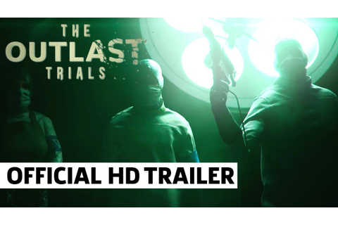 The Outlast Trials - Official Teaser Trailer - YouTube