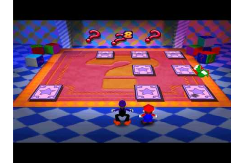 Mario Party 3 Mini Games - Stacked Deck - YouTube