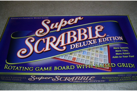 Super Scrabble Deluxe Edition | Flickr - Photo Sharing!