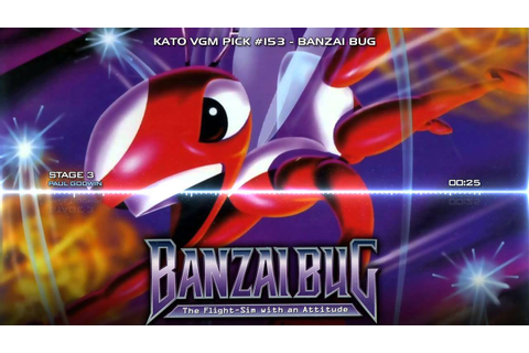 Kato VGM Pick #153: Banzai Bug - Stage 3 - YouTube
