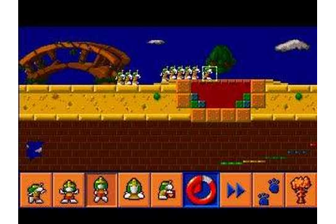 Amiga - Lemmings 3 - All New World of Lemmings | Doovi
