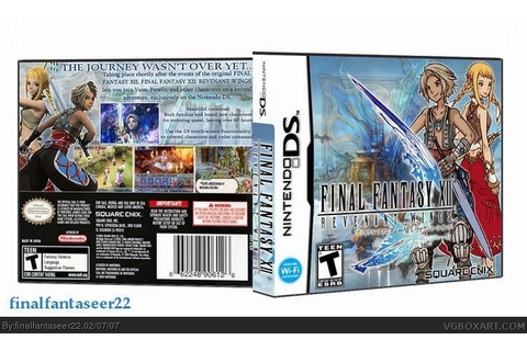 Final Fantasy XII: Revenant Wings Nintendo DS Box Art ...