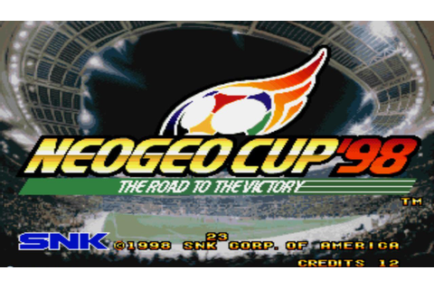 ACA NEOGEO Neo Geo Cup '98: The Road to the Victory: il ...