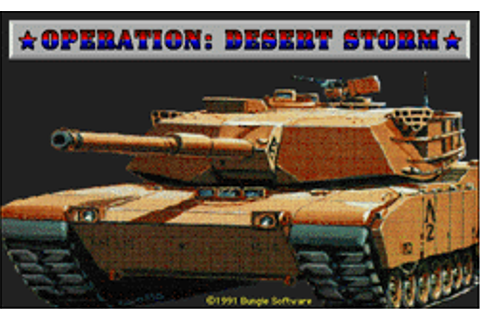 Game Classification : Operation Desert Storm (1991)