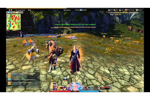 Swordsman Online gameplay - YouTube
