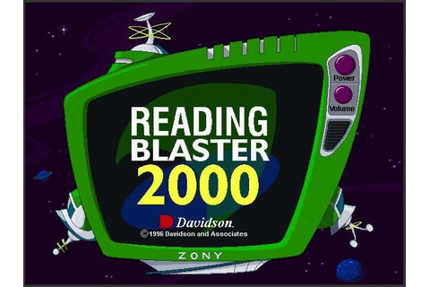 Download Reading Blaster 2000 (Mac) - My Abandonware