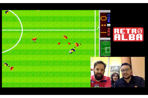 GameCenter RetroAlba episodio 5 Tehkan World Cup Arcade ...