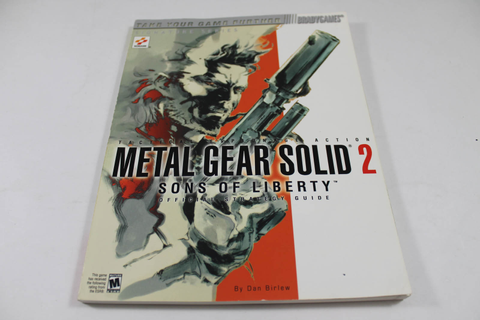 Metal Gear Solid 2: Sons Of Liberty (Brady Games)