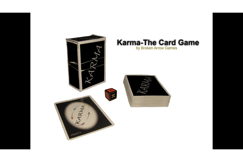 Karma - The Card Game (Canceled) by Broken Arrow Games ...
