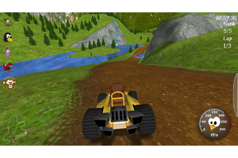 How To Unlock All Tracks and Characters on SuperTuxKart Game