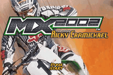 Play MX 2002 featuring Ricky Carmichael Nintendo Game Boy ...