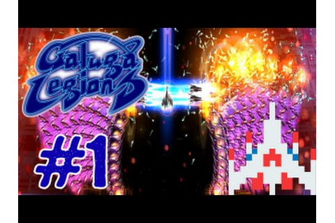 Galaga Legions DX - Gameplay Walkthrough Part 1 - Area 01 ...