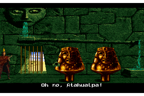 Inca 2: Wiracocha (1994) by Coktel Vision MS-DOS game