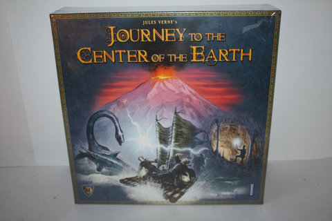 Journey to the Center of the Earth Board game 2008 Mayfair ...