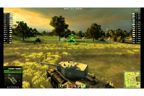World of Tanks Gameplay - YouTube