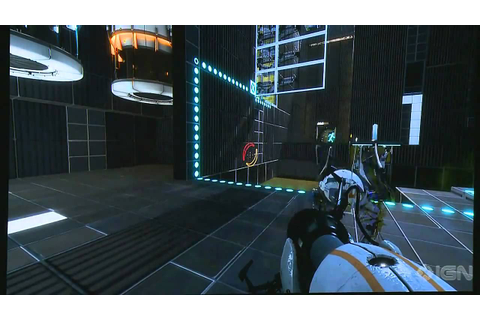 Portal 2 co-op Gameplay (9MIN) PAX 2010 - YouTube