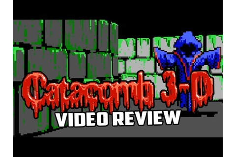 Catacomb 3-D Series PC Game Review - YouTube