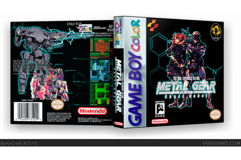 Metal Gear Ghost Babel/ Metal Gear Solid Game Boy Color ...