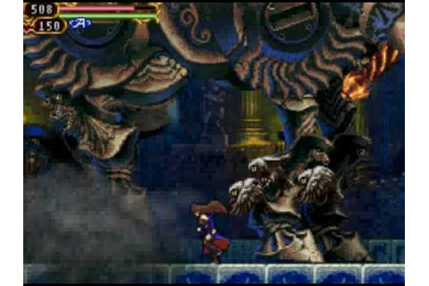 Castlevania: Order of Ecclesia boss Eligor - YouTube