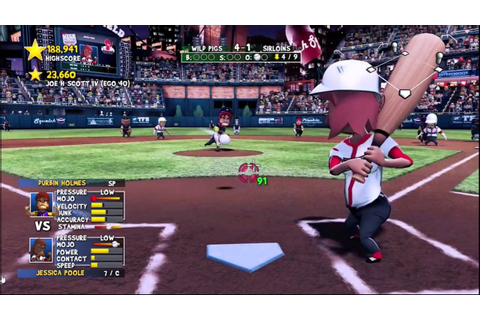 Super Mega Baseball Extra Innings Full 9 Inning Game Xbox ...