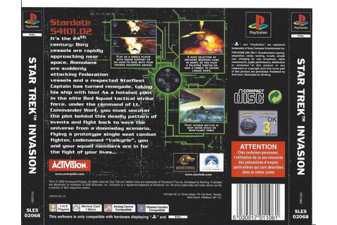 Star Trek Invasion for Playstation 1 PS1 - Passion For Games