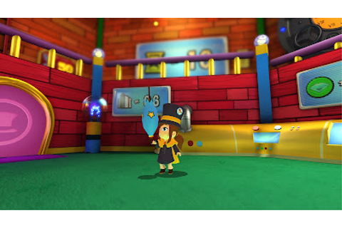 New Trailer and Images for the Platformer A HAT IN TIME ...