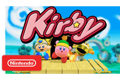 Kirby for Nintendo Switch - Official Game Trailer ...