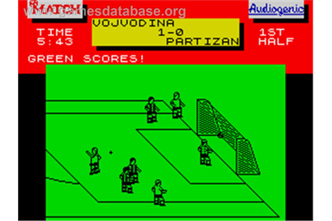 Emlyn Hughes International Soccer - (ZX Spectrum ...