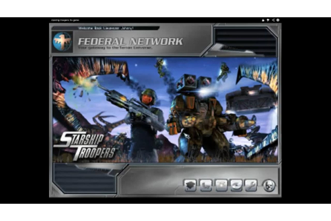 Starship Troopers RTS game - YouTube