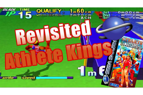 Revisted Athlete Kings For The Sega Saturn Classic Retro ...